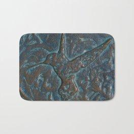 Hummingbird Art Bath Mat