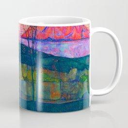 Egon Schiele Setting Sun Coffee Mug