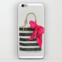 french iPhone & iPod Skins featuring French Outing  by Xchange Art Studio