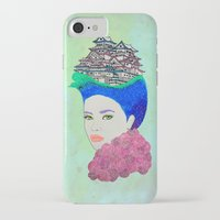 japan iPhone & iPod Cases featuring Japan by Luna Portnoi