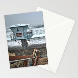 Lifeguard Tower 2, Torrey Pines, La Jolla, California Stationery Cards