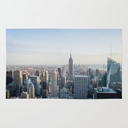 Towers - City Urban Landscape Photography Rug