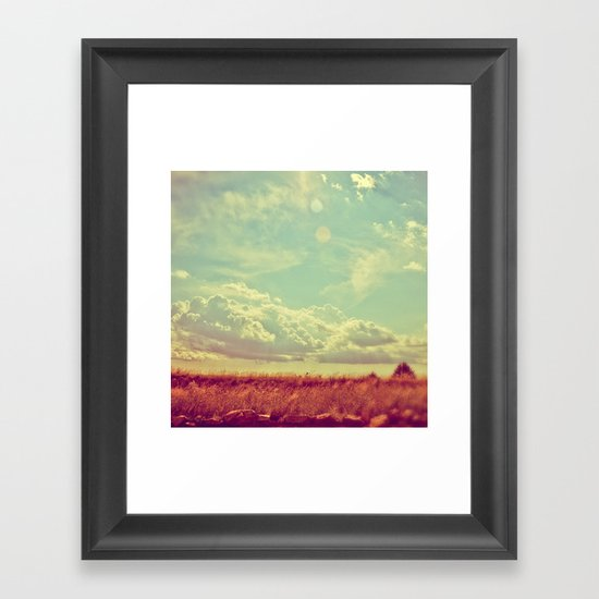 Shooting the Breeze 2.0 Framed Art Print