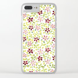 Spring Carnival Clear iPhone Case