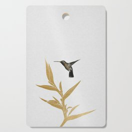 Hummingbird & Flower II Cutting Board
