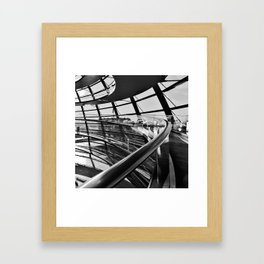 Bundestag [IV] Framed Art Print
