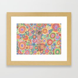 hypnotic Framed Art Print
