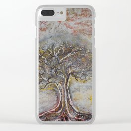 Ancient Wisdom Clear iPhone Case