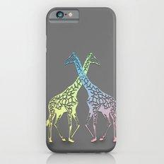giraffe love iPhone 6s Slim Case