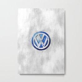 Das Auto sketch Metal Print