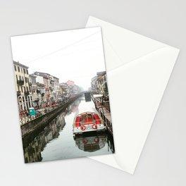 Milano Navigli - Italy Stationery Cards