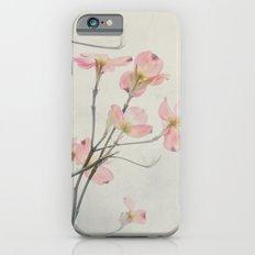 Pink Dogwood Flower Botanical iPhone 6s Slim Case