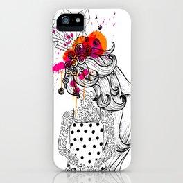 the tattooed girl iPhone Case