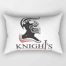 medieval helmet  Rectangular Pillow