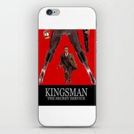 Kingsman: The Secret Service iPhone Skin