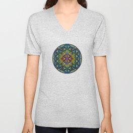 The Flower of Life (Sacred Geometry) Unisex V-Neck