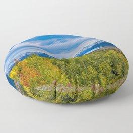 Matanuska_Glacier, Alaska - Autumn Floor Pillow