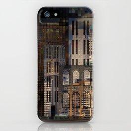 Digital Architecture iPhone Case