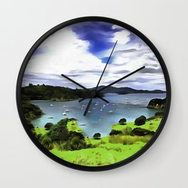 Moturoa Island Wall Clock