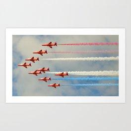 9 Formation Art Print