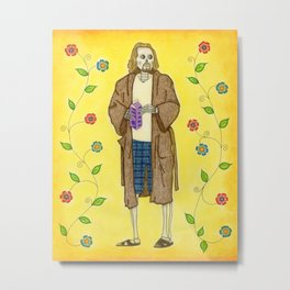 Day of the Dude Metal Print