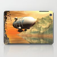 led zeppelin iPad Cases featuring Zeppelin by nicky2342