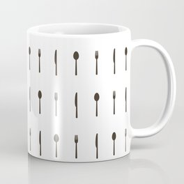 Fork, spoon and knife Coffee Mug