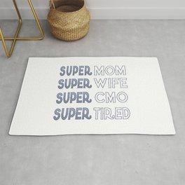 Super CMO Mom Rug
