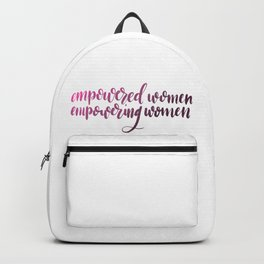Empowered Backpack