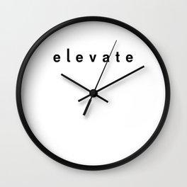 Elevate Wall Clock