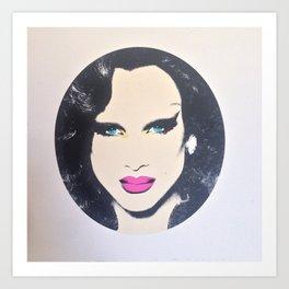 miss fame Art Print
