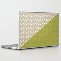 sewing Laptop & iPad Skins featuring Sewing pattern by Ella Elron-Breitman