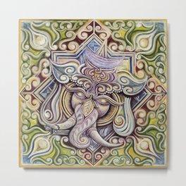 Ganesh Metal Print