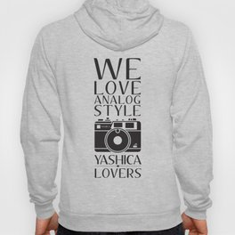 """We Love Analog"" Hoody"