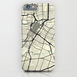 Houston Texas HawaII Vietnam City Map iPhone Case