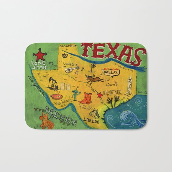 Postcard from Texas print by chengel