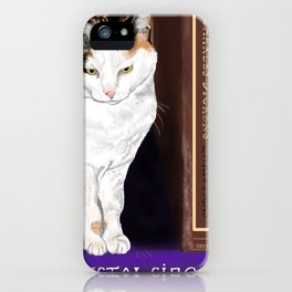 Agatha and Other Classics iPhone Case