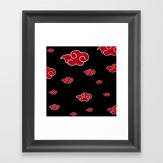 AKATSUKI CLAN  Framed Art Print