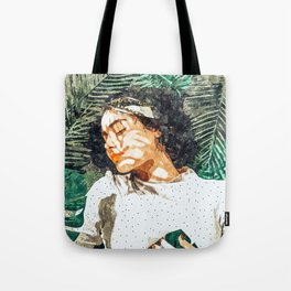 Rest #painting #tropical Tote Bag