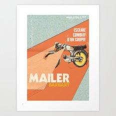 Mailer Barbary Art Print