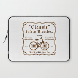 Classic Safety Bicycles Laptop Sleeve