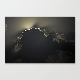Armageddon IV - Darkness Canvas Print