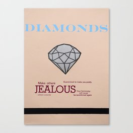 Diamonds Canvas Print