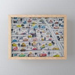 lodges Framed Mini Art Print