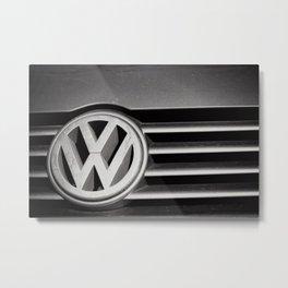 VW Front Metal Print