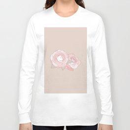 PEONIA - SAND - Sorbetedelimón Long Sleeve T-shirt