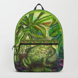 Rain Forest Toad Backpack