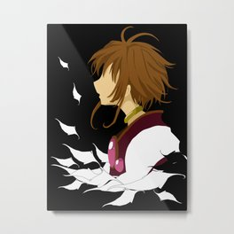 Lost Wings Metal Print