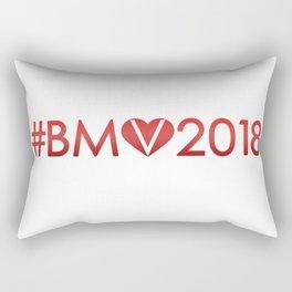 #BeMyValentine2018 fill Rectangular Pillow