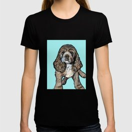 Lego the Cocker Spaniel T-shirt